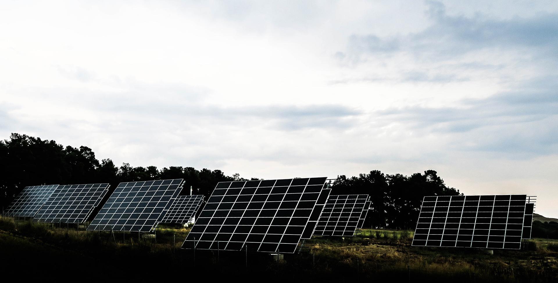 Solar panel photograph